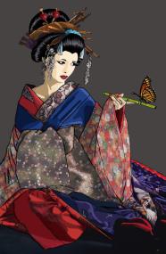 Yusura Seated